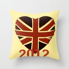 I Love Vintage 2012 Throw Pillow