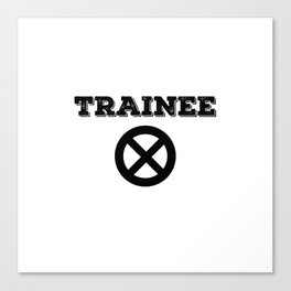 Xmen Trainee Canvas Print