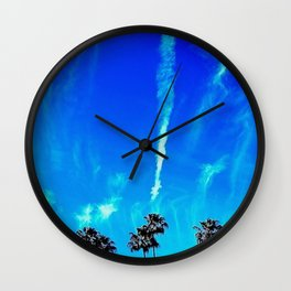 Vapors Wall Clock