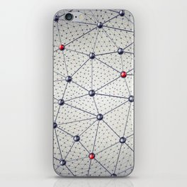 Cryptocurrency network iPhone Skin