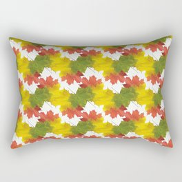 Leaves and Colors Rectangular Pillow