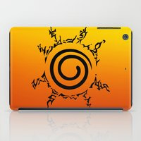 naruto iPad Cases featuring NARUTO SEAL by Smart Friend