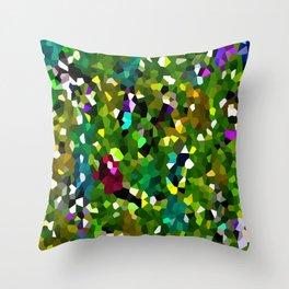 Pineapple Abstract Geometric Throw Pillow