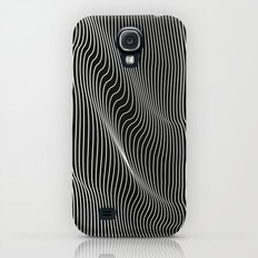 Minimal curves black Galaxy S4 Slim Case