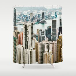 Harbour Section Shower Curtain