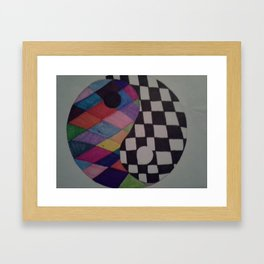 45 Framed Art Print