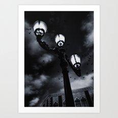 Shadows Are Children of Light Art Print
