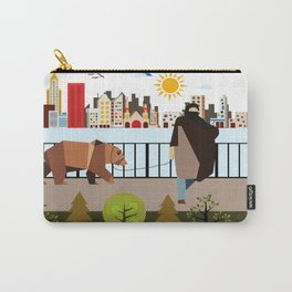 Prisoner in the city  Carry-All Pouch