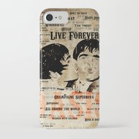 oasis iPhone & iPod Cases featuring Oasis by Colo Design