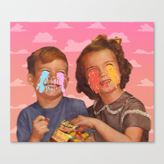 Delicious Candy Canvas Print