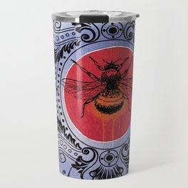 Bumble Bee Sunrise Travel Mug