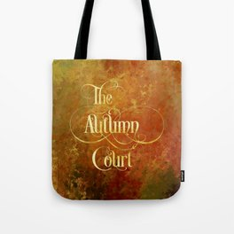 The Autumn Court Tote Bag