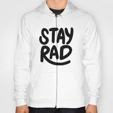 Stay Rad B&W Hoody
