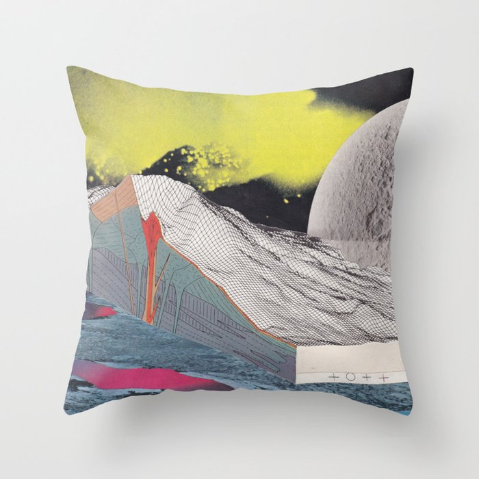 Acid Trip Throw Pillow