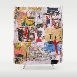 Basquiat Shower Curtains