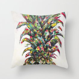 Pineapple no.3 Throw Pillow