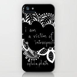 Victim of Introspection iPhone Case