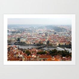 Prague: Charles Bridge Art Print