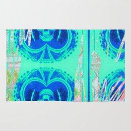 Tracy Porter / Roxy Attic: Blue Spades Rug
