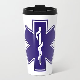 Ambulance Blue Star of Life Travel Mug