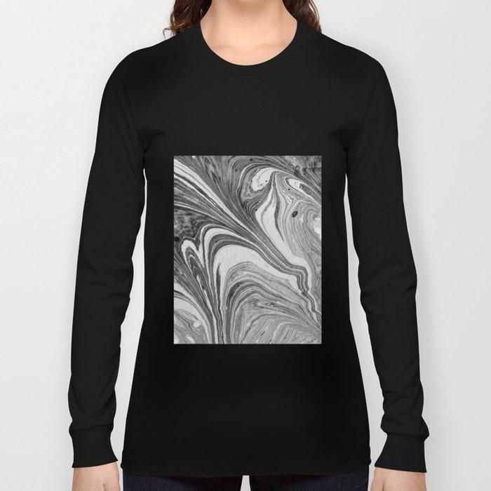 marbling 07 Long Sleeve T-shirt