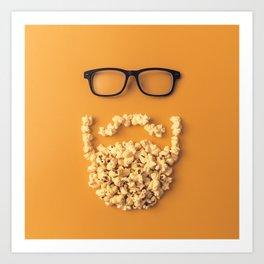 That Movie Beard Art Print