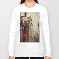 jack daniels Long Sleeve T-shirts featuring Jack Daniels by Orlando Gurrola