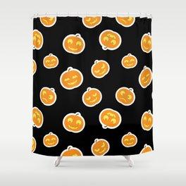 Cute Pumpkins Pattern Shower Curtain