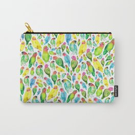 Love Birds Pattern Carry-All Pouch