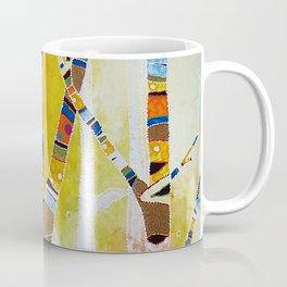 Raven Hanging the Sun Coffee Mug