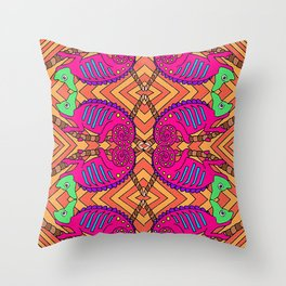 Chameleons Throw Pillow