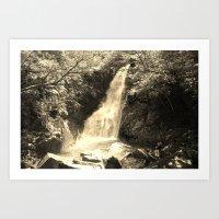 Hiji Falls Art Print