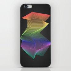 Angular Rainbow iPhone & iPod Skin