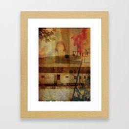 LOLITA : HIDING// Framed Art Print