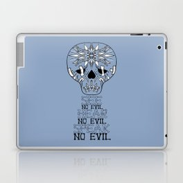 Cute Skull See no Evil Laptop & iPad Skin
