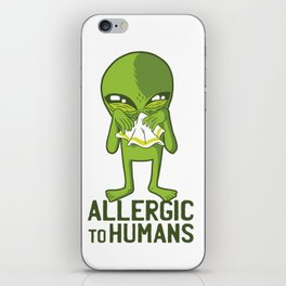 Allergic to humans iPhone Skin