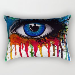 See My Soul Rectangular Pillow