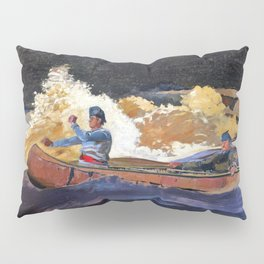 Shooting The Rapids, Saguenay River - Digital Remastered Edition Pillow Sham