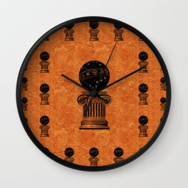 Freemason Symbolism Wall Clock