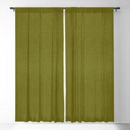 MID CENTURY MODERN . OLIVE LINEN Blackout Curtain
