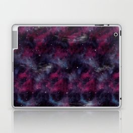 Purple space Laptop & iPad Skin