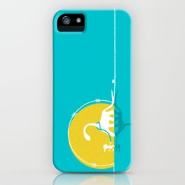 i believe in dinosaurs iPhone Case