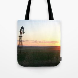 Montana Sunset Tote Bag