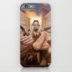 Steampunk Winged Pigtailed Heroine Slim Case iPhone 6s