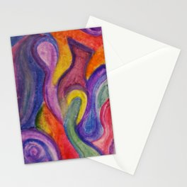 Toilet Paper Art Stationery Cards