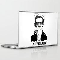 poe Laptop & iPad Skins featuring Gangsta Poe by Sara Fox