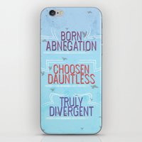 divergent iPhone & iPod Skins featuring Truly Divergent by Tiffany 10