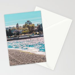 I see an island. Stationery Cards