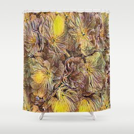 Flowers Galore - Painterly Shower Curtain