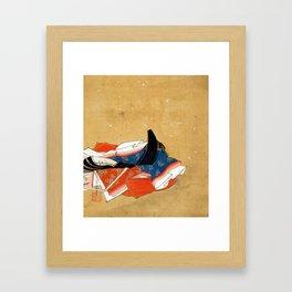 Kano Shōun Immortal Poet Framed Art Print